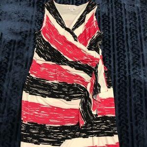 Cute Faux Wrap Dress